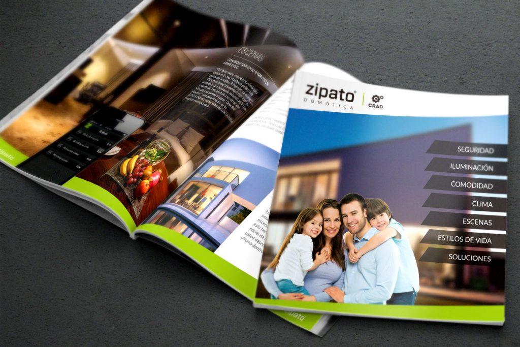 W Diseño - Brochure ZIPATO